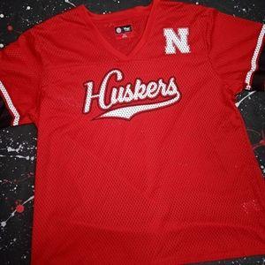 Nebraska Cornhuskers vintage mesh football jersey